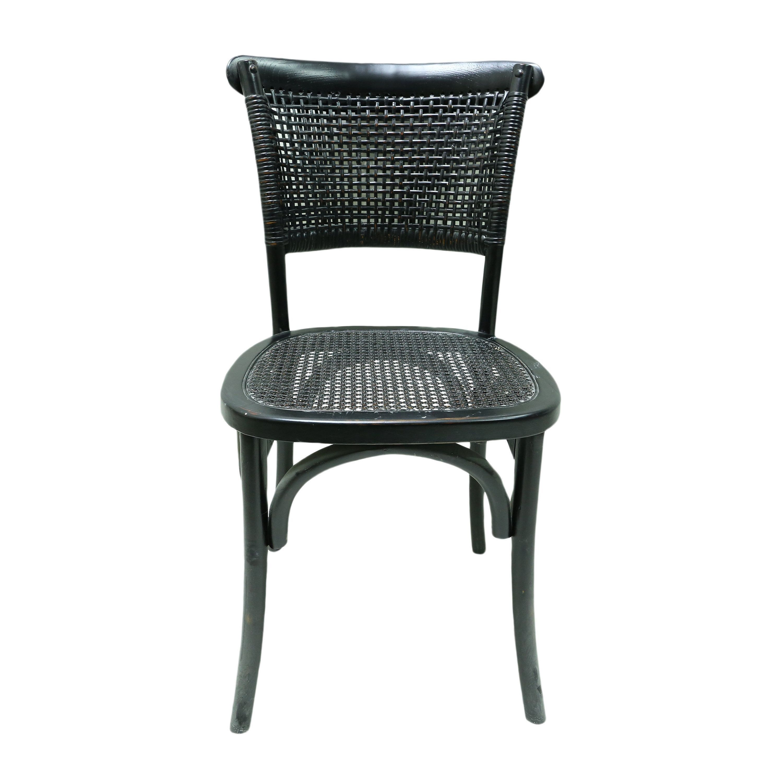 aurelle home black rattan dining chairs set of 2 in 2019 rh pinterest com