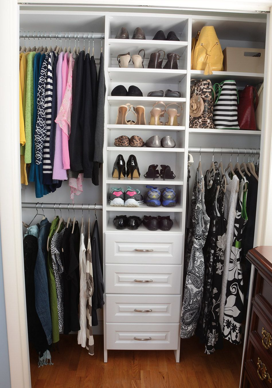 What A Really Organized Closet Looks Like Master Bedroom Closets