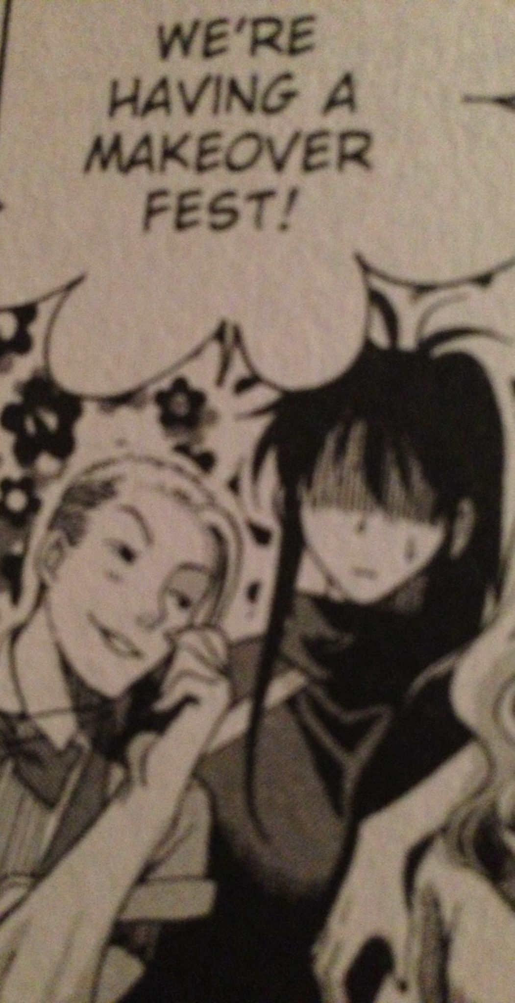 Fangs face here speaks volumes in terms of