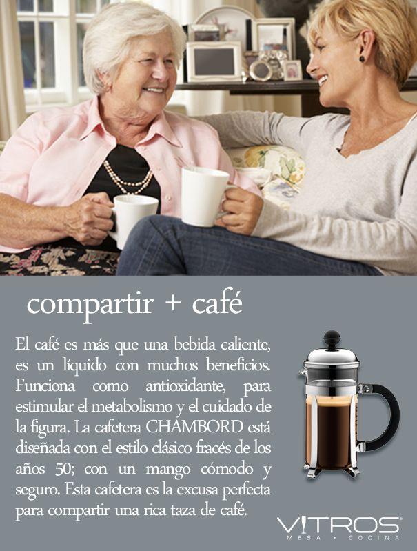 compartir + café #Vitrostienda