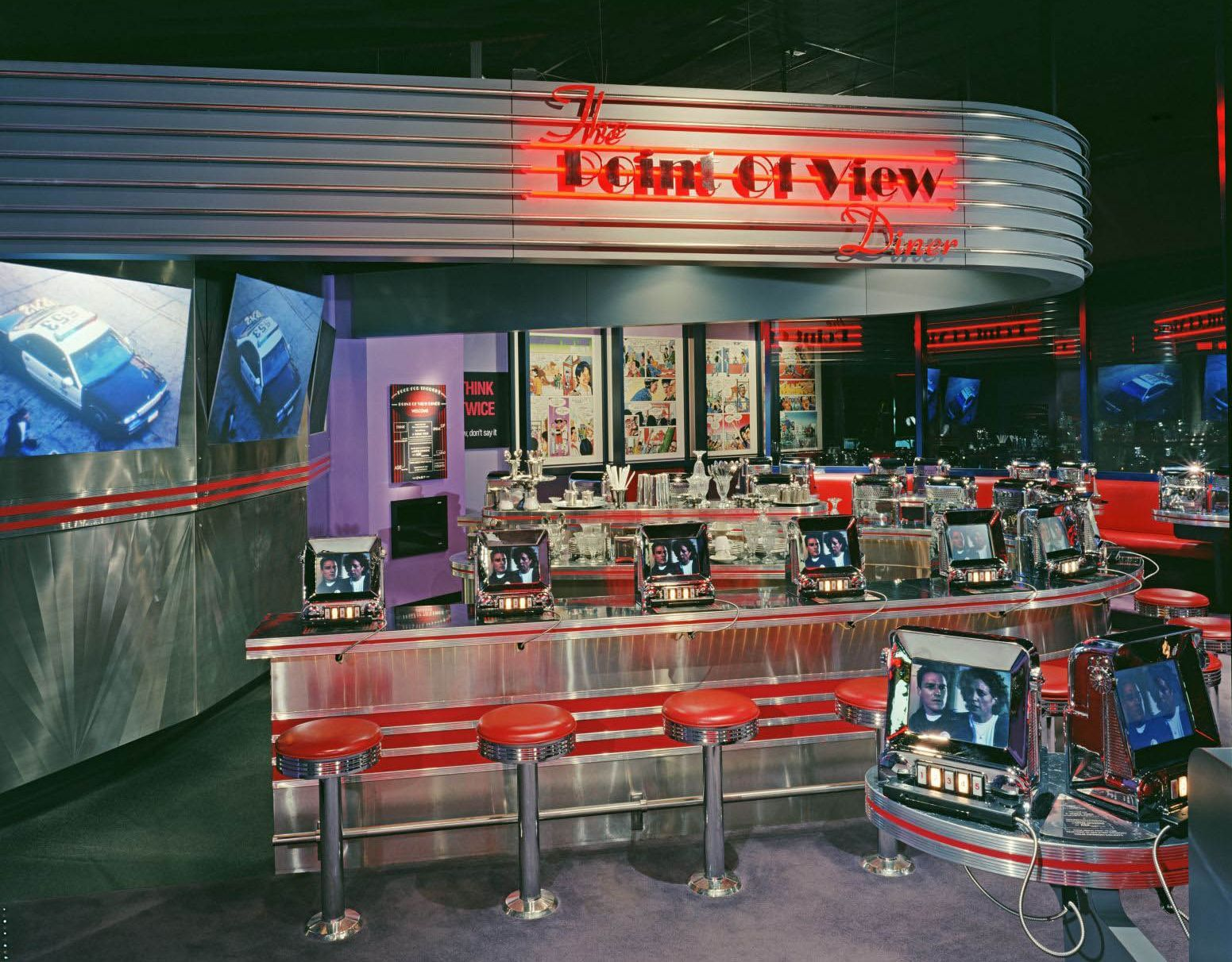 1950s diners by cadzilla64 on pinterest 1950s diner 50s for Diner picture