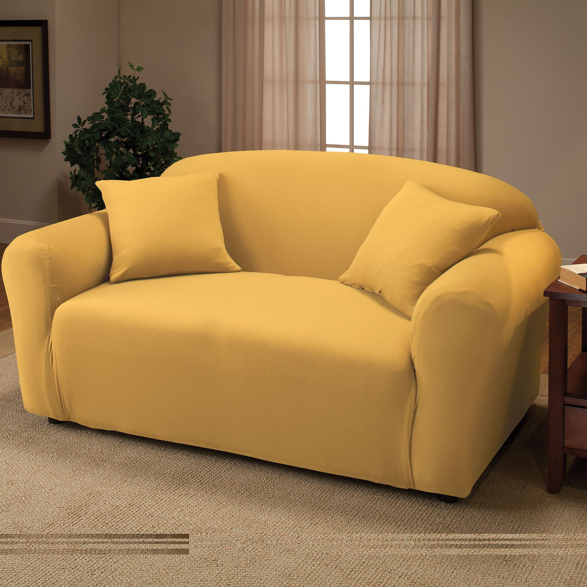 stretch jersey loveseat slipcover products in 2018 loveseat rh pinterest com