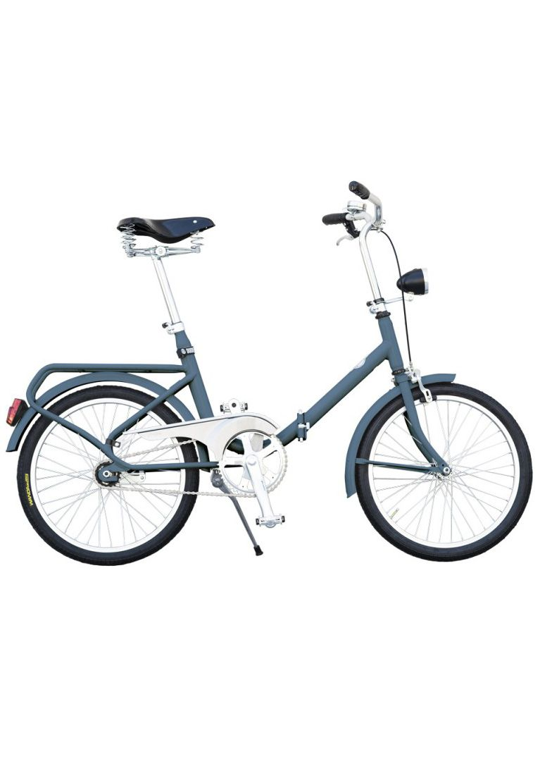Cetta Foldable Bike by Dudebike - Lime Lace £275 #italian #foldingbike #vintage #dudebike #retro