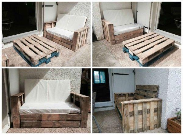 Salon De Jardin / Garden Pallet Lounge