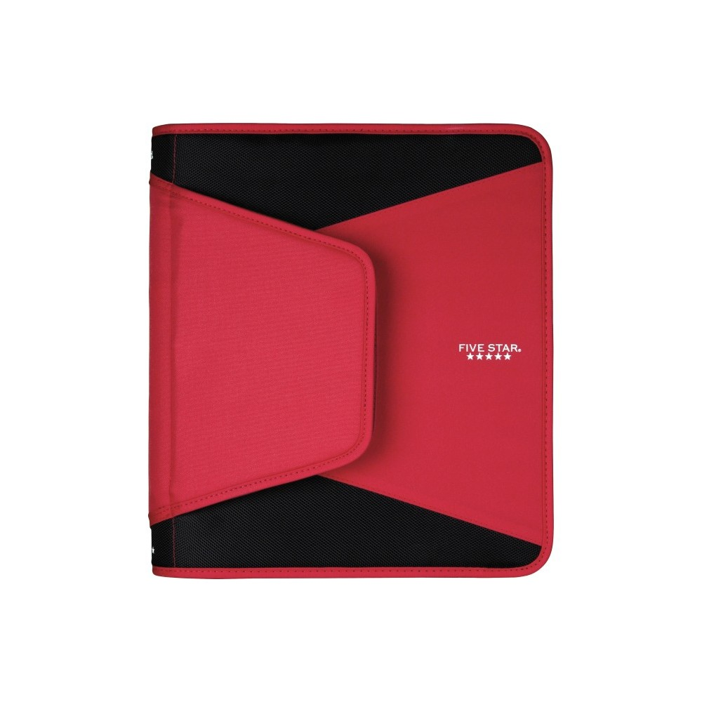 Mead 1-1/2 Round Ring Tech Zipper Binder, Red In 2019