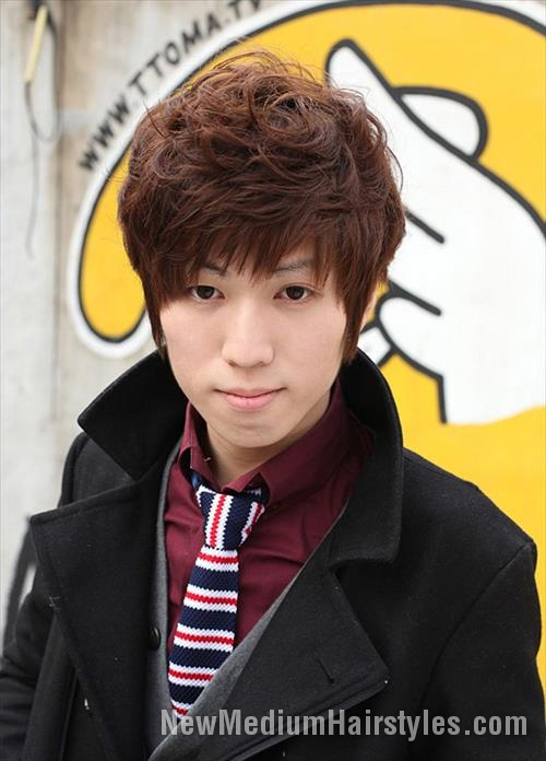 Awesome Cute Korean Hairstyles Ideas For School Boys