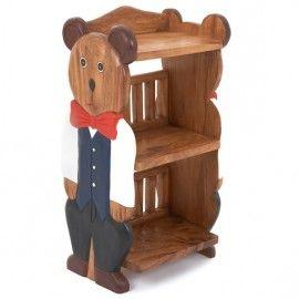 irresistibly cute children s teddy bear wooden book shelf this rh pinterest com