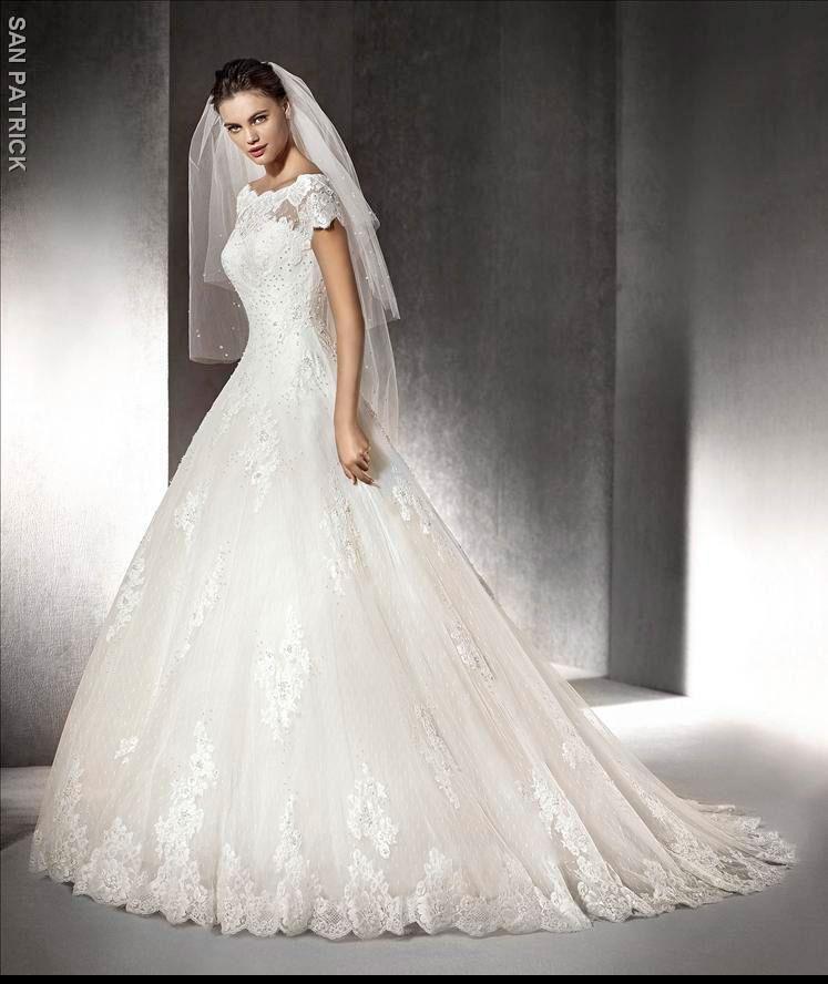 colección vestidos de novia san patrick 2016 - entrenovias   wedding