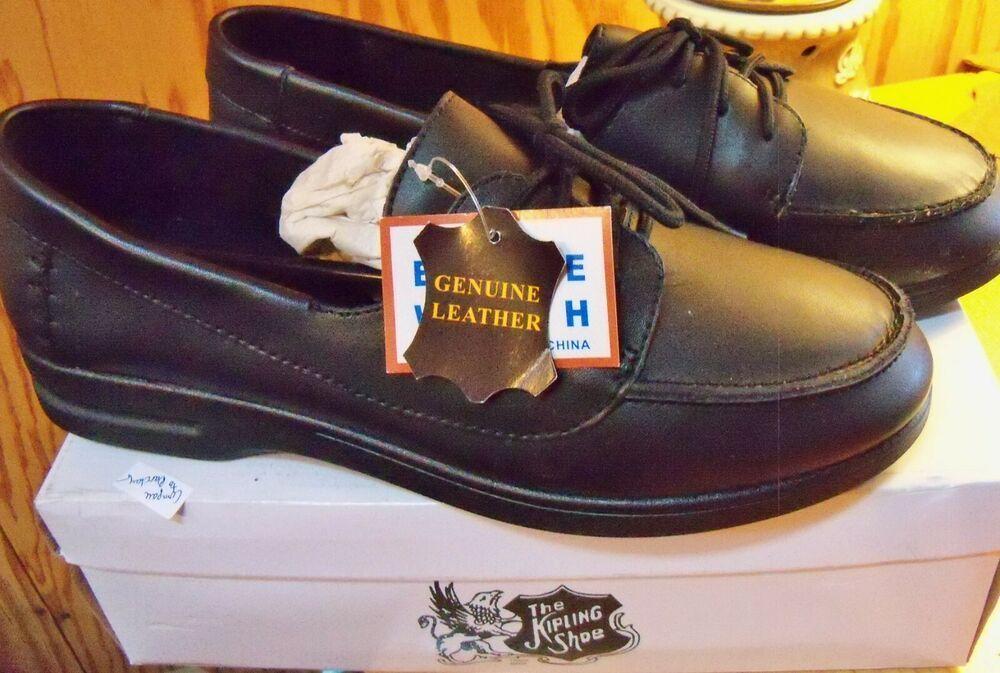 Kipling shoe Black genuine Leather Lace