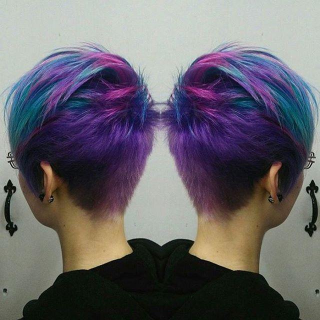 30++ Multi colored pixie cut trends