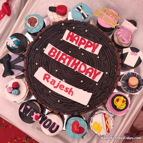 Happy Birthday Rajesh Video And Images In 2019 Cakes Happy