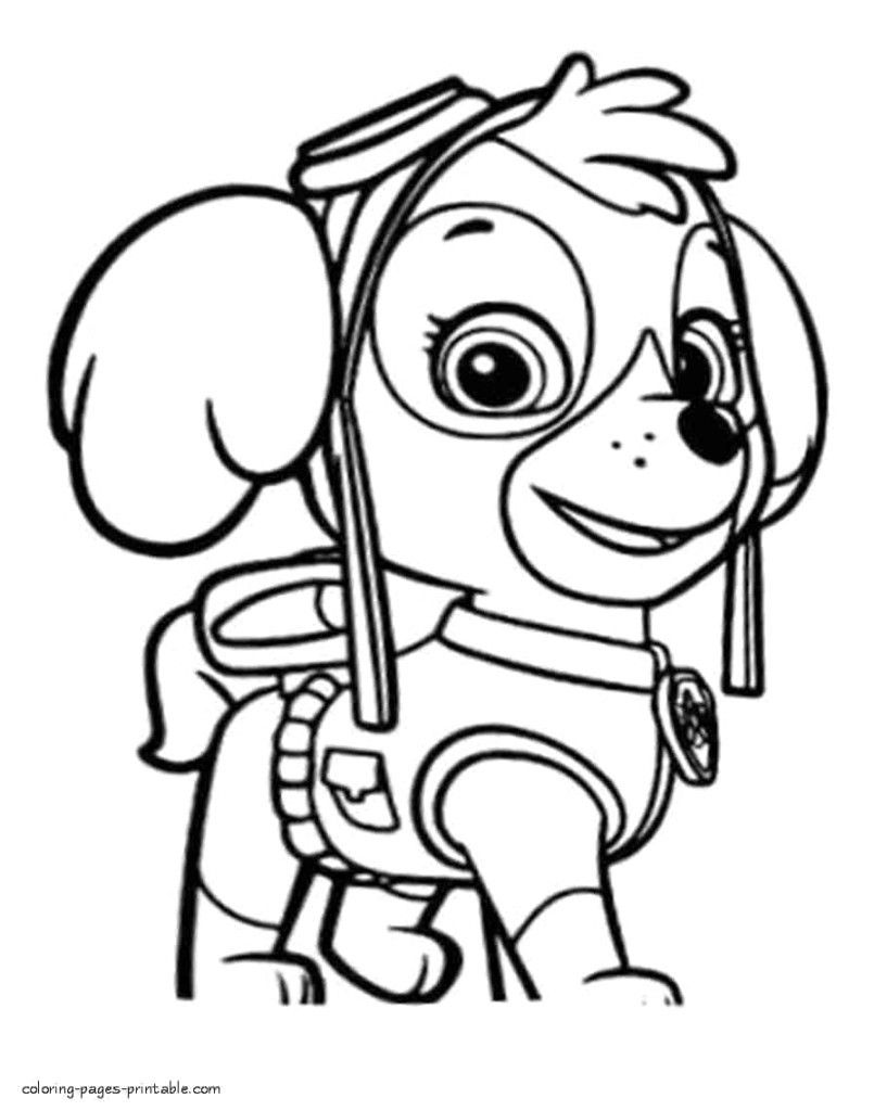 Paw Patrol Coloring Pages Free Paw Patrol Coloring Pages Free Paw