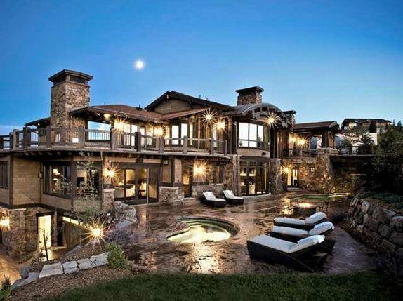 Pinterest:✨A Luxury Life✨ #luxuryrustichomes   luxury rustic homes