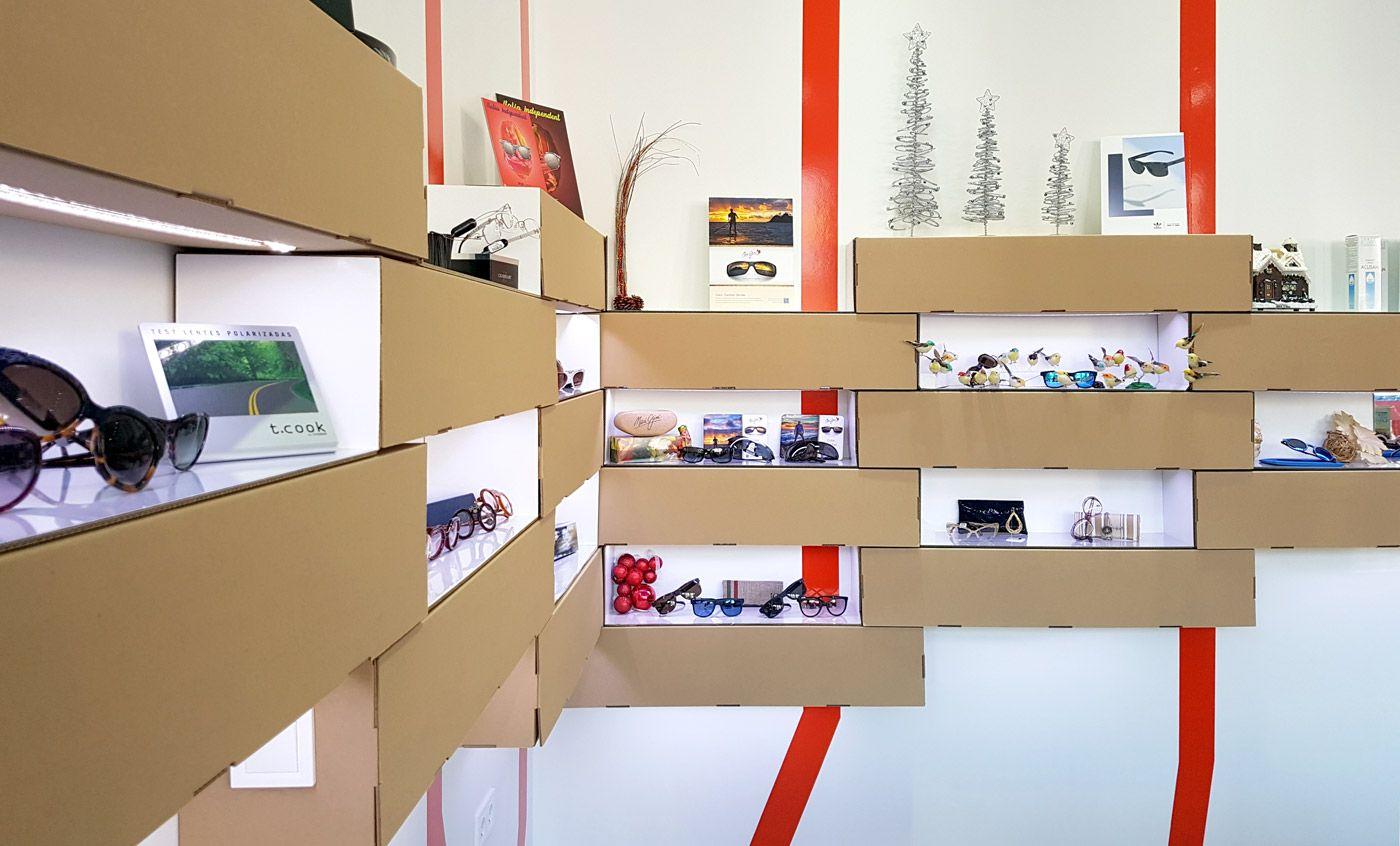 Dise O Interior Ptica Expositores Para Gafas Y Mobiliario  # Muebles Dous Murcia