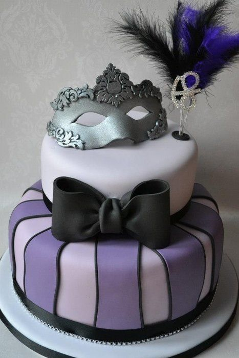 Awe Inspiring Masquerade Birthday Cake Google Search With Images Funny Birthday Cards Online Alyptdamsfinfo