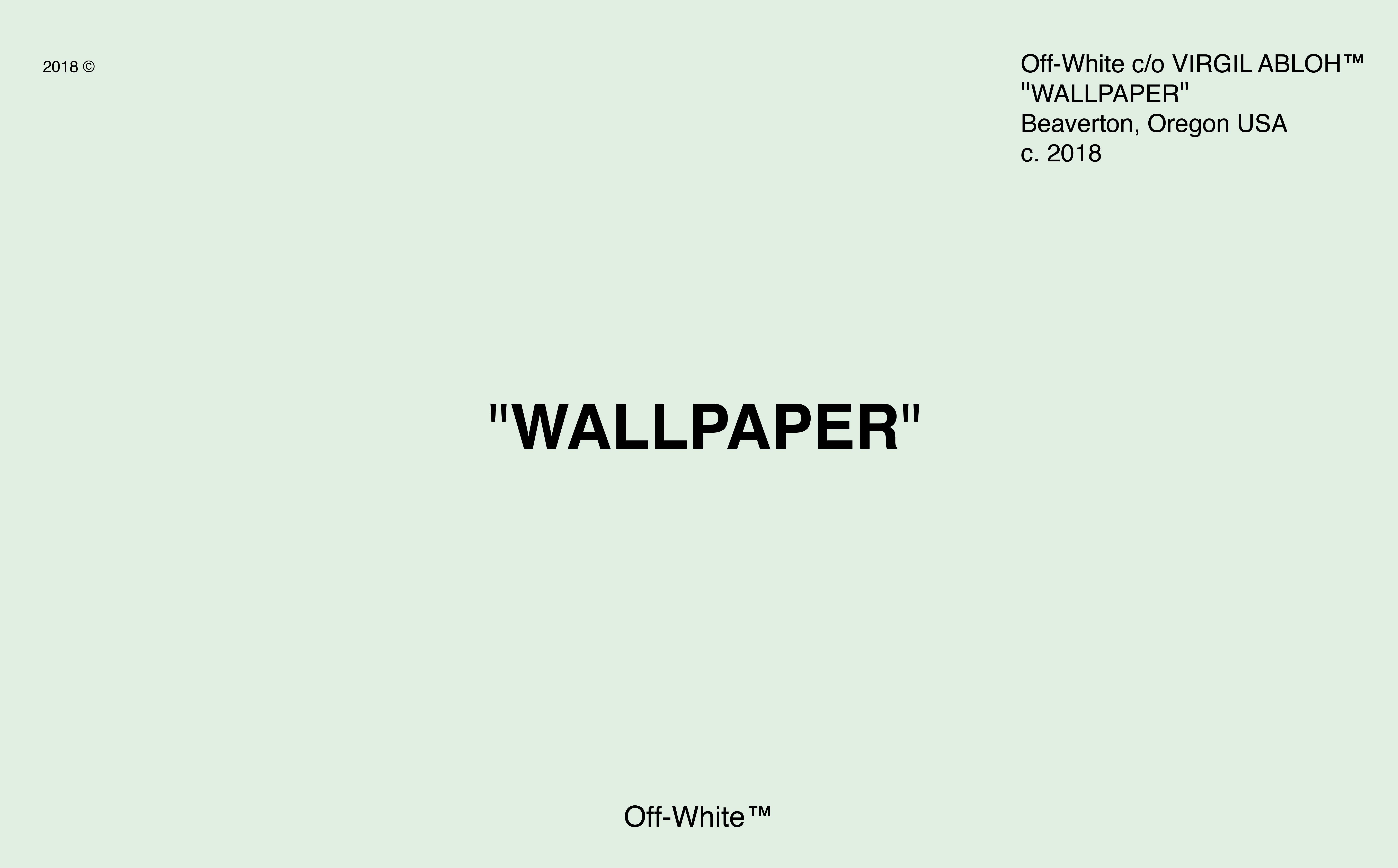 High Resolution Off White Wallpaper Made For Macbooks Let It Fill The Screen Macbook Wallpaper Desktop Wallpaper Macbook Laptop Wallpaper Desktop Wallpapers