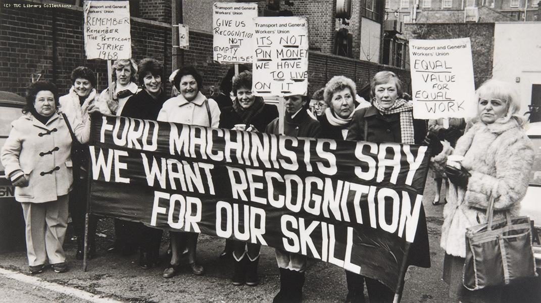 June 7 1968 Made In Dagenham Women In History Equality
