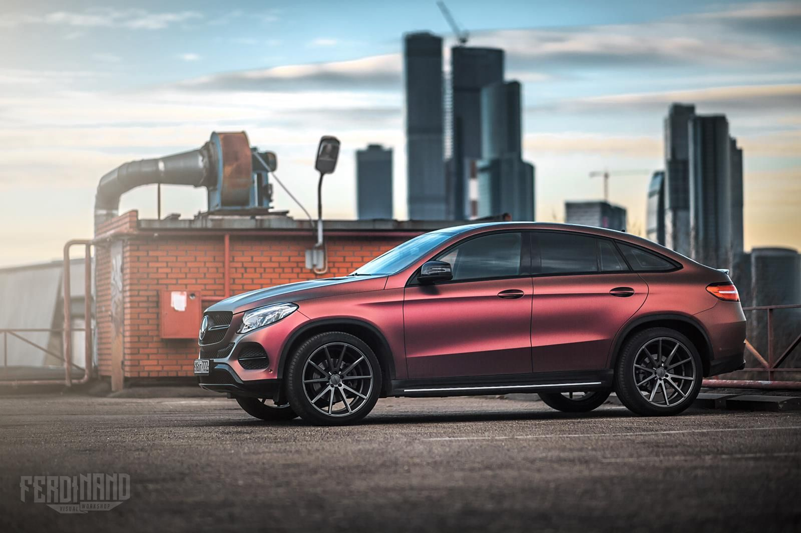 how do you feel about this mercedes gle s color changing wrap nice rh pinterest com