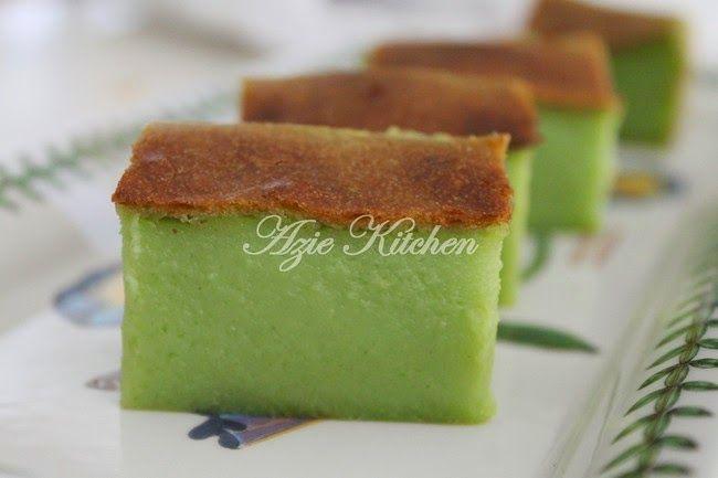 Kuih Bakar Istimewa Azie Kitchen Yang Paling Sedap Asian Desserts Food Traditional Cakes