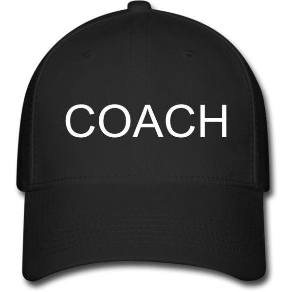 fe848629092 COACH Adjustable Baseball Cap Black Adjustable Baseball Cap ...