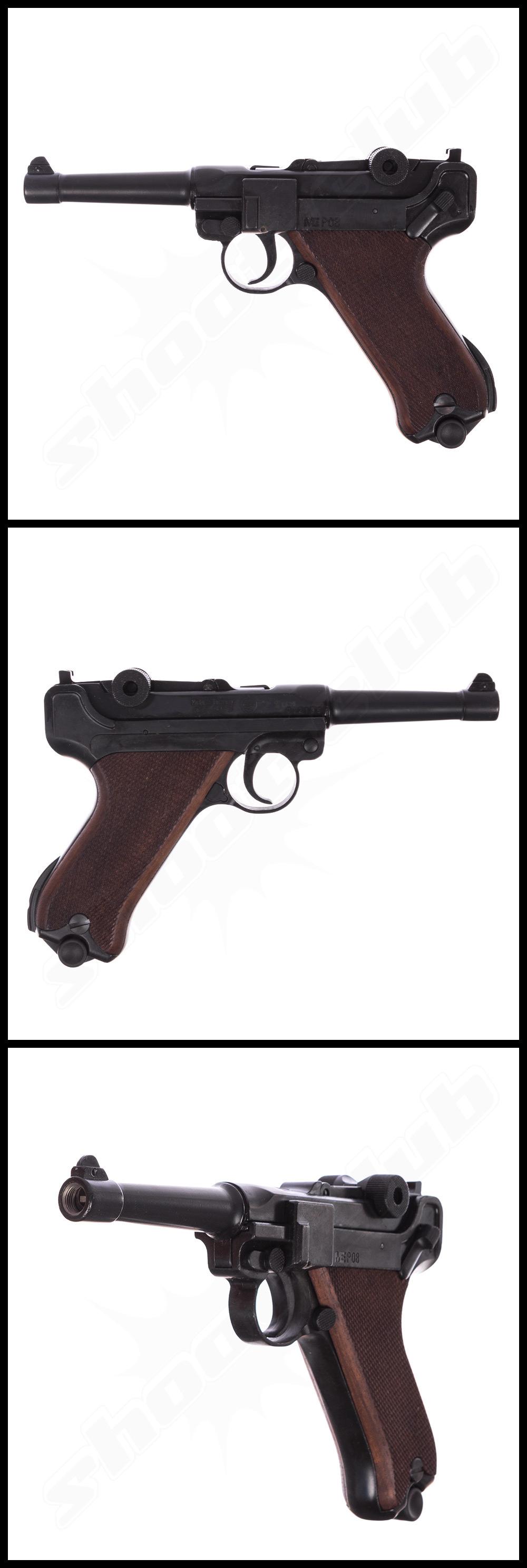 schreckschusspistole me luger modell p08 9mm p a k. Black Bedroom Furniture Sets. Home Design Ideas