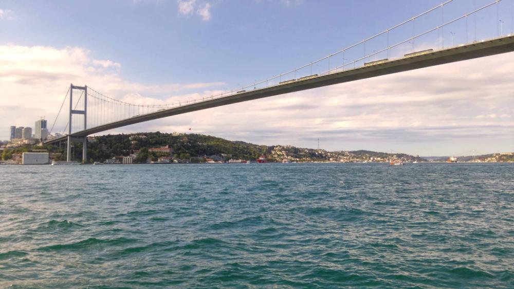 اجمل الاماكن في اسطنبول الاوروبية والاسيوية سفرك السياحية Most Beautiful Places Beautiful Places Bay Bridge