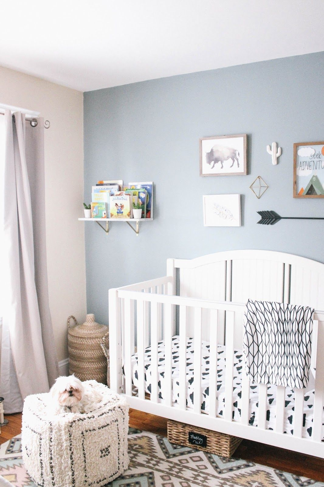 Now That Bennett Is On The Move I Wanted To Transition His Room From A Nursery