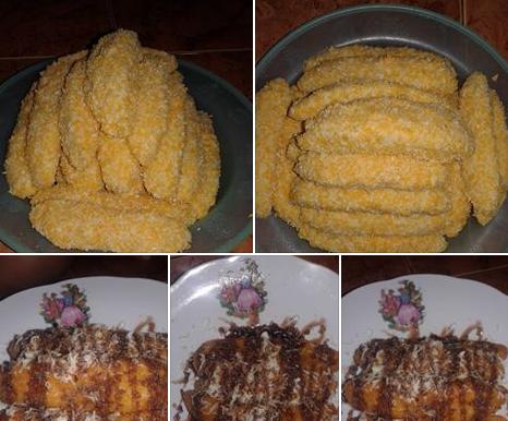 Resep Cara Membuat Pisang Crispy Dari Pisang Kepok Resep Pisang Makanan Dan Minuman