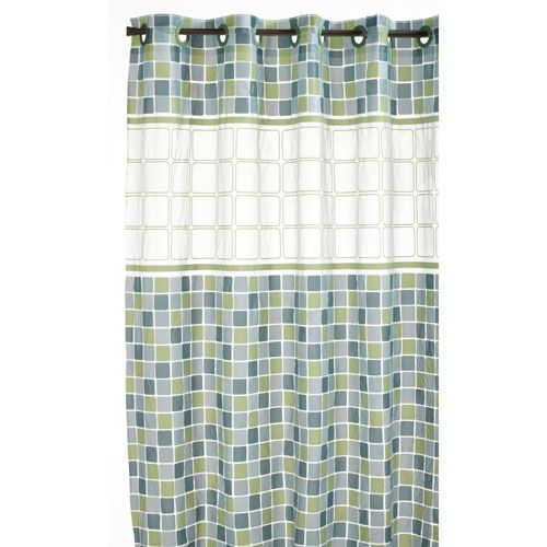 mosaic shower curtain - Google Search | Polyvore Items | Pinterest ...