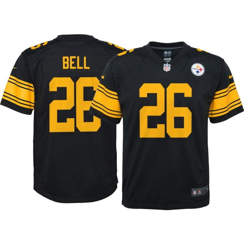 b6efbd14766c Nike Youth Color Rush 2016 Game Jersey Pittsburgh Le Veon Bell  26 ...