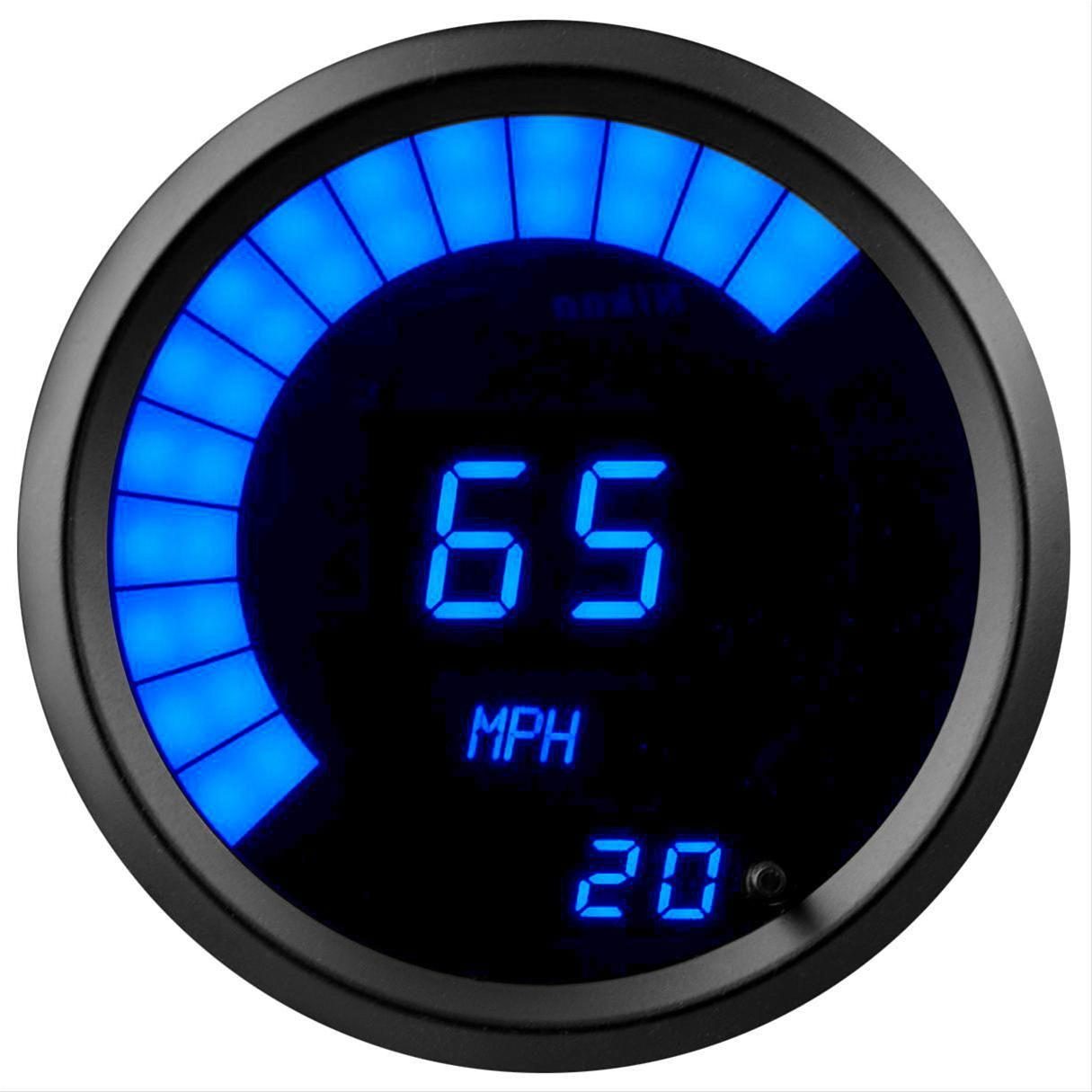 Find Summit Racing Led Digital Speedometers Sum G2981 2b And Get Free Standard Shipping On Orders Over 99 At Summit Racing Summit Racing Bar Graphs Digital