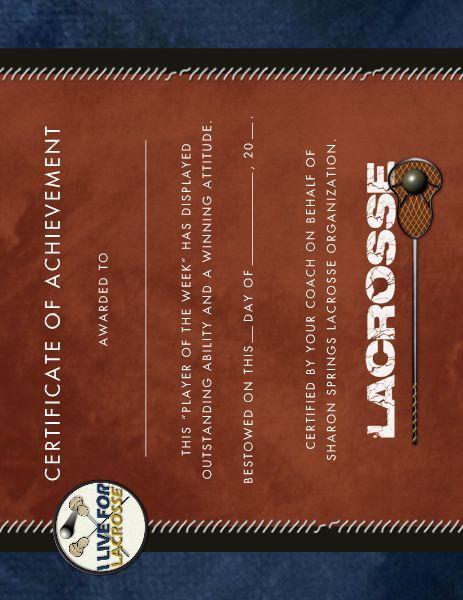 Livin lacrosse award certificate designed by roxanne buchholz 85 x livin lacrosse award certificate designed by roxanne buchholz 85 x 11 flyers template id 109946 yelopaper Gallery