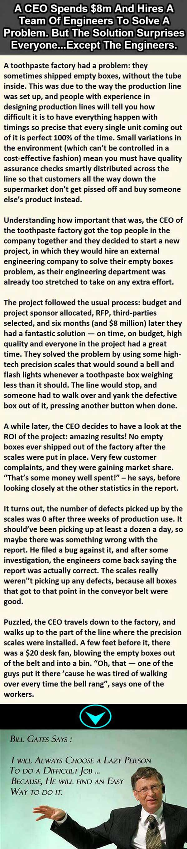 Now I understand what Bill Gates was talking about…