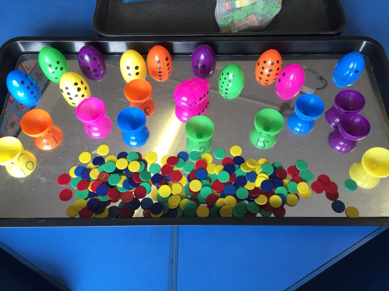 Matching Numeral To Quantity Doubles Symmetry Easter