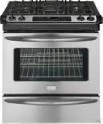 Ranges and Stoves 71250: Frigidaire 30 Silde-In Gas Range Fggs3045kf Stainless Steel -> BUY IT NOW ONLY: $1349 on eBay!