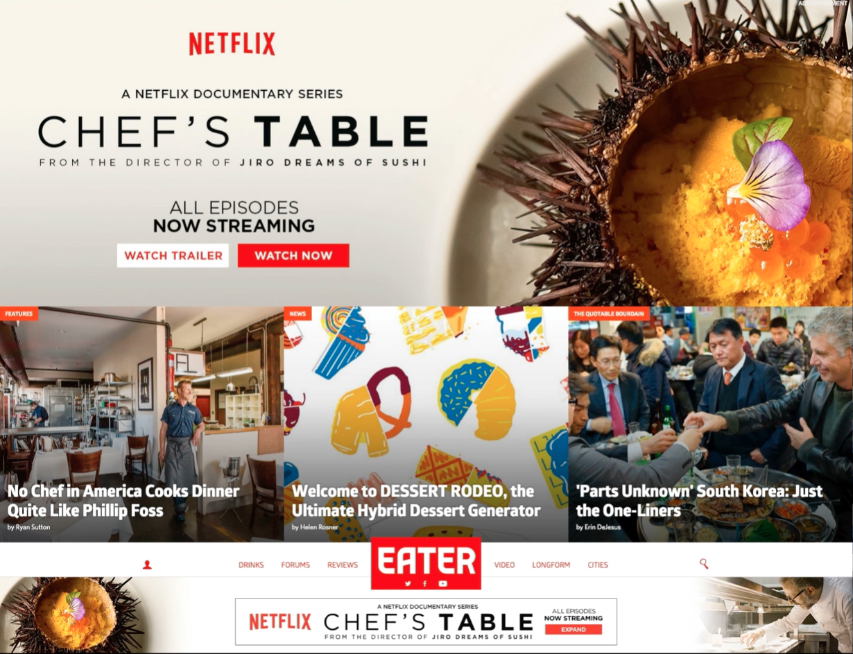 netflix chef s table eater website takeover canyon design rh pinterest co uk