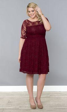 Luna Lace Dress | Plus Size Outfits | Plus size lace dress ...