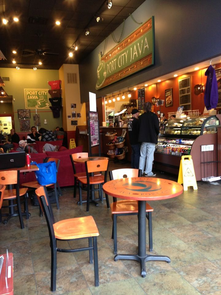 Get A Cuppa Joe From The Place All The Locals Go A Homegrown Coffee Shop With Plenty Of Locations To Choose From Port City Java Roasts All It Port Java City