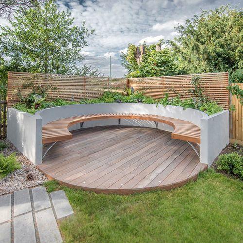Modern Atlanta Landscape Ideas Designs Remodels Photos: Deck Design Ideas, Remodels & Photos