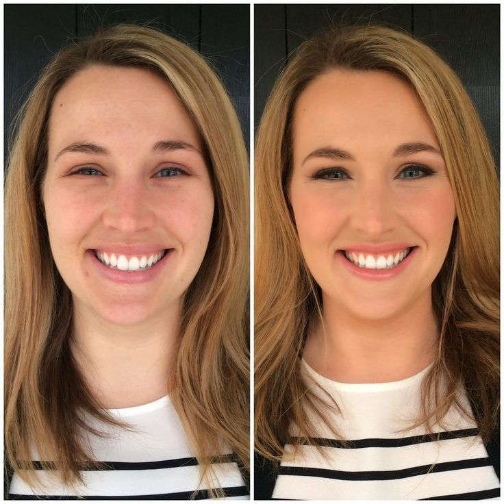 Bridal Makeup Trial Run Before And After. Tip :: Warm Up