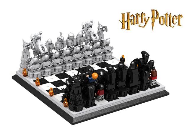 Harry Potter Chess Harry Potter Chess Lego Harry Potter Lego Harry Potter Minifigures