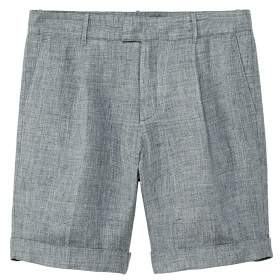 77839f2cb63bc Linen chino bermuda shorts - Men   Products   Bermuda Shorts, Shorts ...
