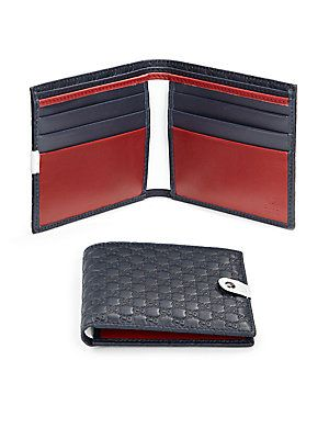 1befc7629e3a Gucci Microguccissima Leather Bifold Wallet | Men's Accessories in ...