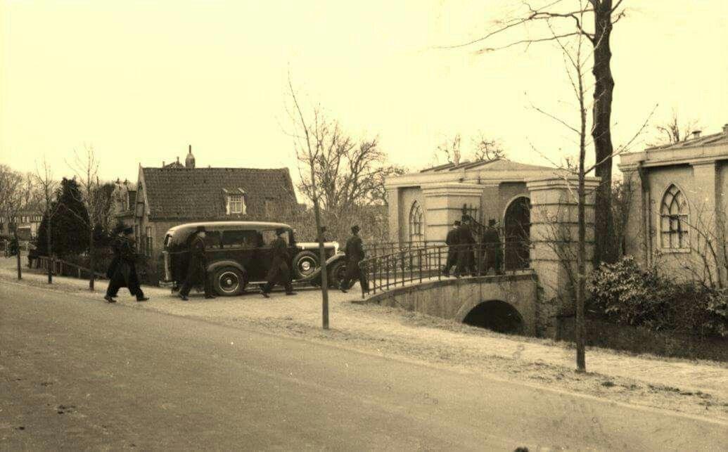 Hoorn. Keern ingang begraafplaats. Jaren 40.