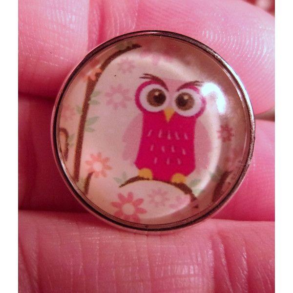 NEW 18mm Owl Snap Charm-Noosa Snaps- Noosa Chunks- Chunk Snaps- Noosa... ($2.25) via Polyvore featuring jewelry, pendants, charm jewelry, owl jewellery, snap button charms, chunk snap jewelry and owl charm jewelry