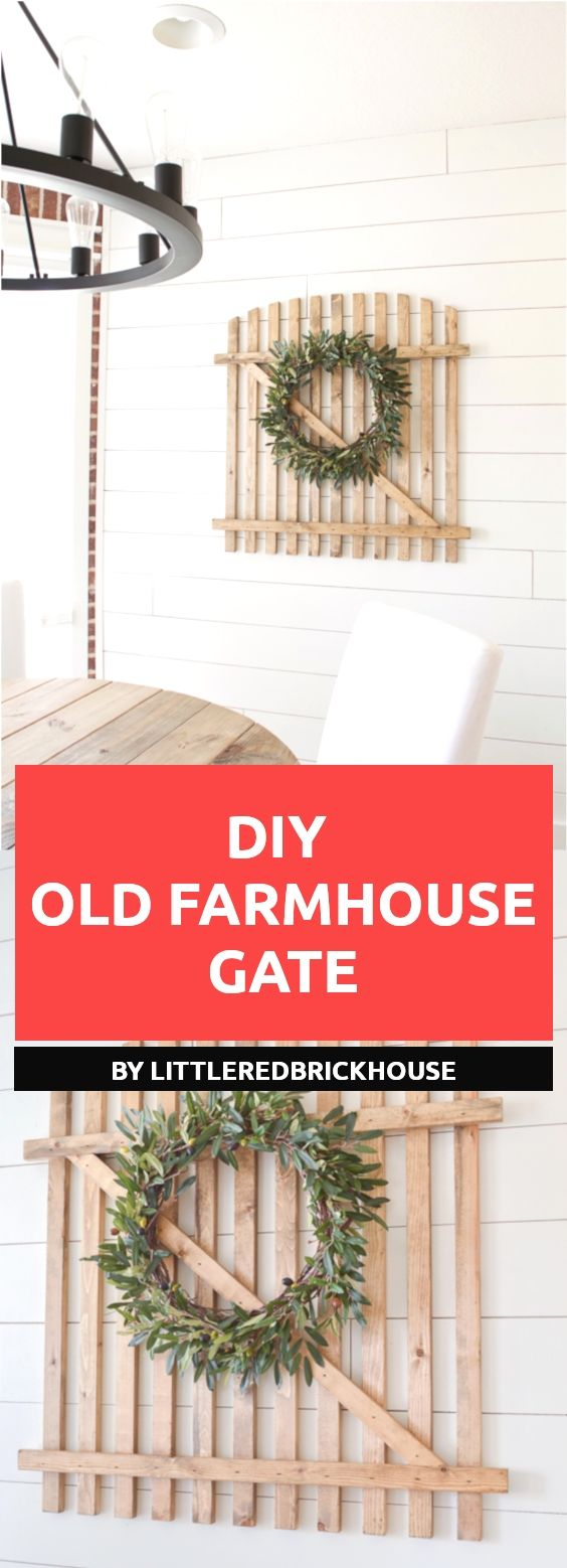 17 farmhouse diy projects to decorate your home tutorials diy rh pinterest com
