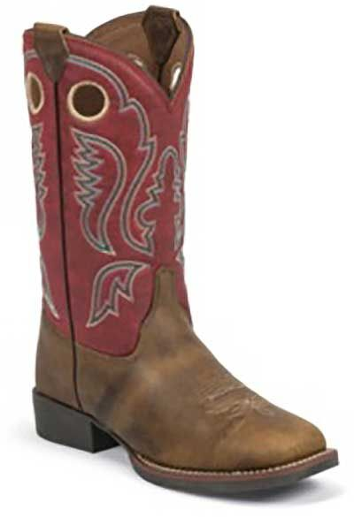 Justin Boots Justin Junior Bent Rail Collection Western Boot Style Junior Boots 326JR