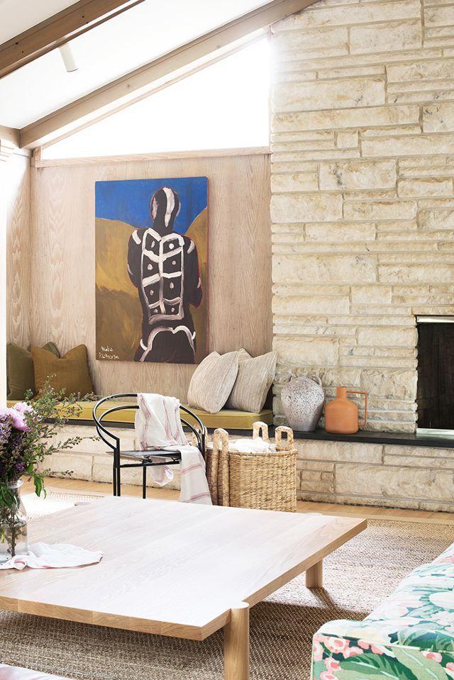 no lie this blogger s beach house has breezy vibes for days beach rh pinterest com