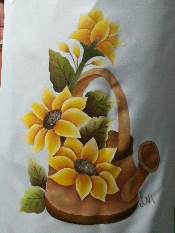 Pintura en tela mis trabajos en tecido pintura en tela pintura en tela flores pinturas - Dibujos para pintar en tela ...