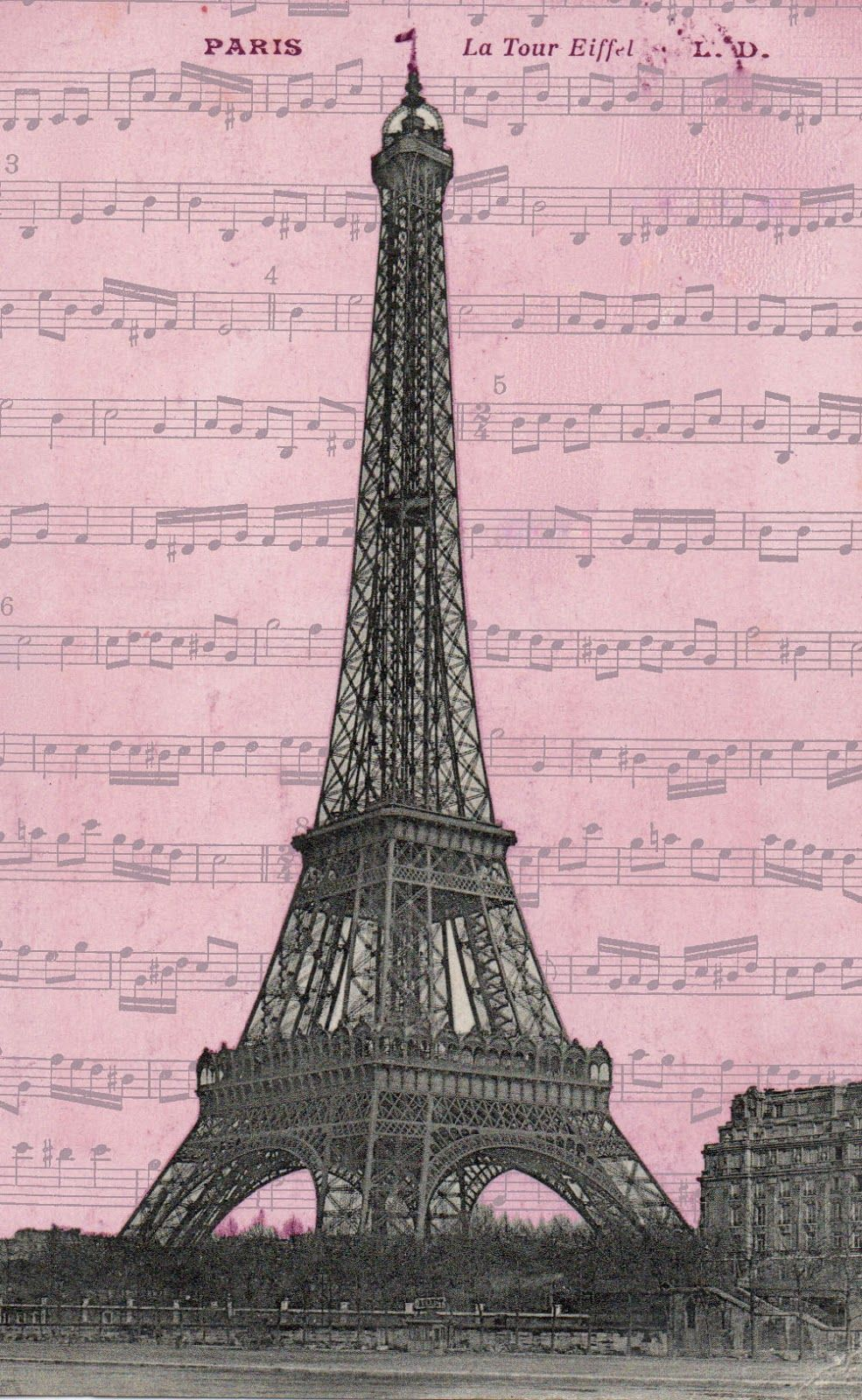Free Paris Printables | Perfect for crafty or artsy projects too ...
